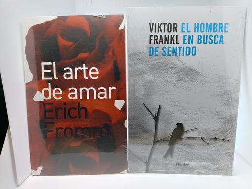 Imagen 1 de 2 de El Arte De Amar + El Hombre En Busca De Sentido