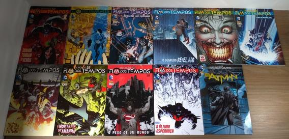 Fim Dos Tempos Os Novos 52 + Especial Batman