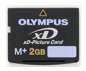 Olympus M 2 Gb Tarjeta Xd-picture Tarjeta De Memoria Flash