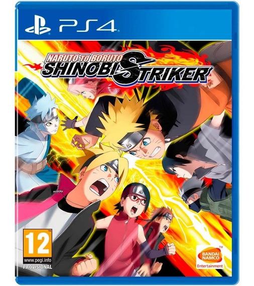 Jogo Naruto To Boruto Shinobi Striker Ps4 Disco Físico Novo