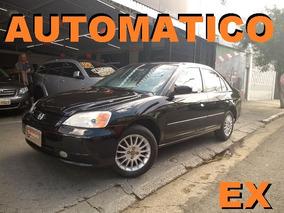 Honda Civic 1.7 Ex Top Muito Novo Gasolina Muito Novo 2002