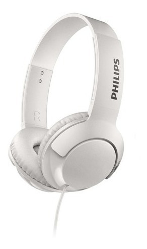 Headphone Philips Shl3075wt/00 Mic P2 Branco