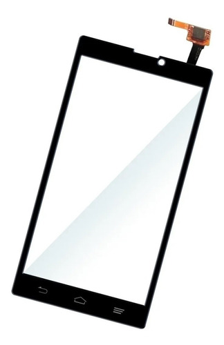 Touch Cristal Zte Blade L2 Original Blanco Negro Garantizado