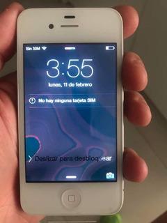 iPhone 4s 16 Gb Libre Impecable!! Con Falla. Leer Bien