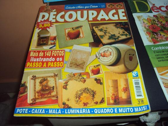 Revistas Decoupage Lote 01