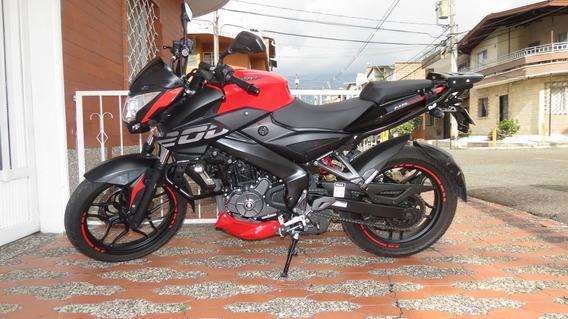 Moto Bajaj Pulsar Ns 200 Modelo 2020