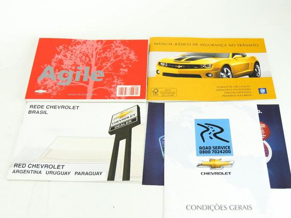 Kit Manual Do Proprietário Agile Em Português.