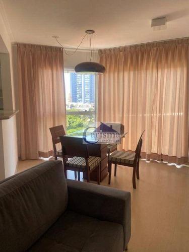 Imagem 1 de 18 de Apartamento Duplex Para Alugar, 91 M² Por R$ 3.600,00/mês - Jardim - Santo André/sp - Ad0021
