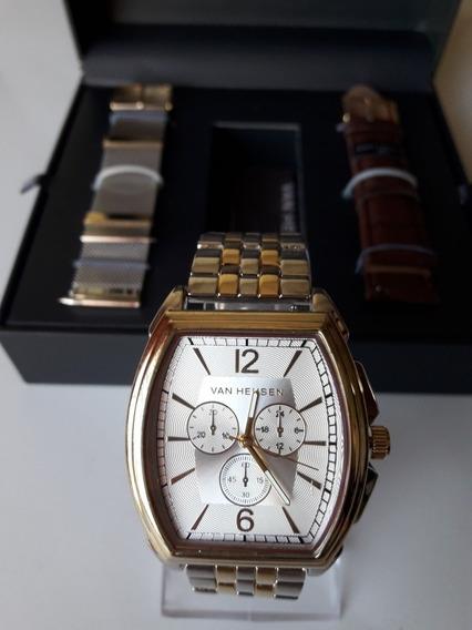 Hermoso Reloj Van Heusen Para Caballero