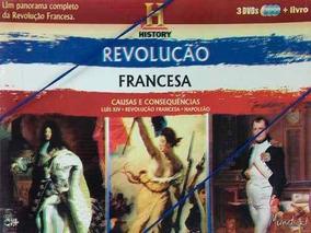 Coleção Revolução Francesa Livro + 03 Dvds