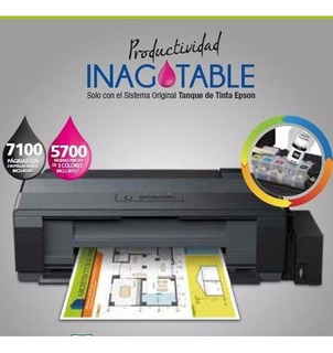 Impresora Sublimacion A3 Epson L1300 + 500cc De Tinta