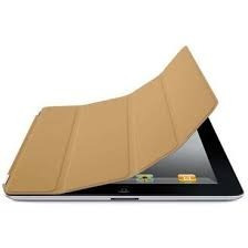 Capa P/ iPad 2 Smart Cover Original Couro Cor Sahara