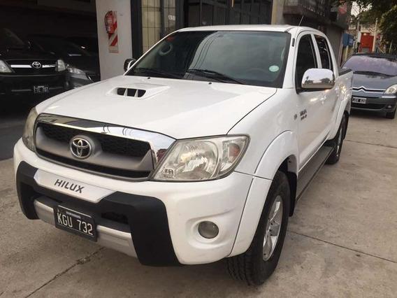 Toyota Hilux 3.0 I Srv Cab Doble At 4x4 Cuero 2011