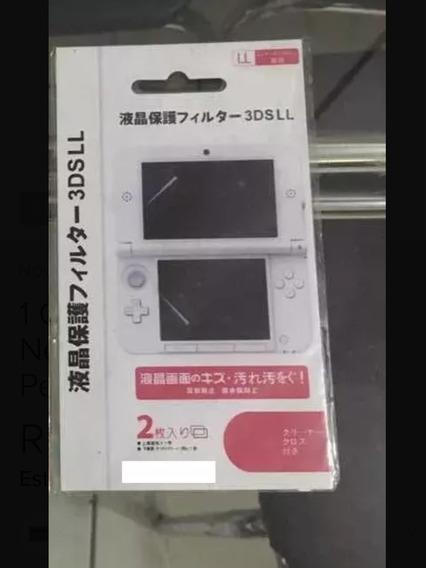 Película Nintendo 3ds Xl Old - Tela Grande/ Serve New 3ds Xl