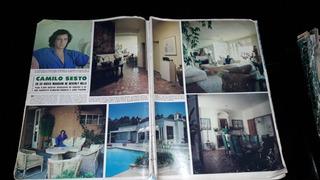 Camilo Sesto Nota Revista Hola Mansión Beverly Hills