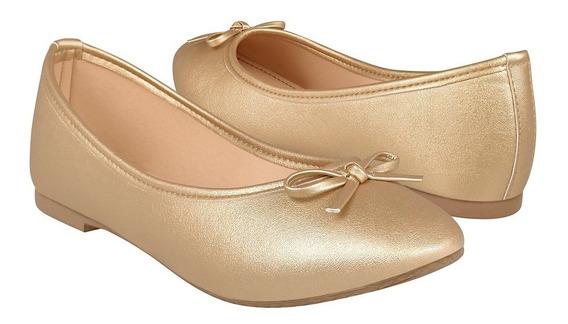 Zapatos Casuales Para Dama Stylo 3004 Oro