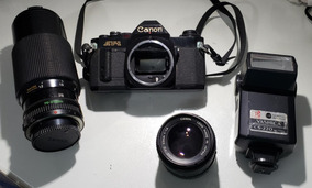 Canon Av-1 + Lentes Fd 70-210 E Fd 50mm