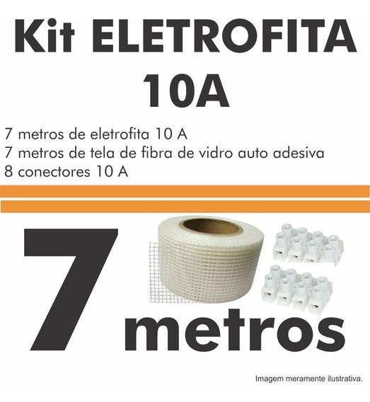 Kit Fita Elétrica (eletrofita) 2 Pistas - 7 Metros. 750v/10a