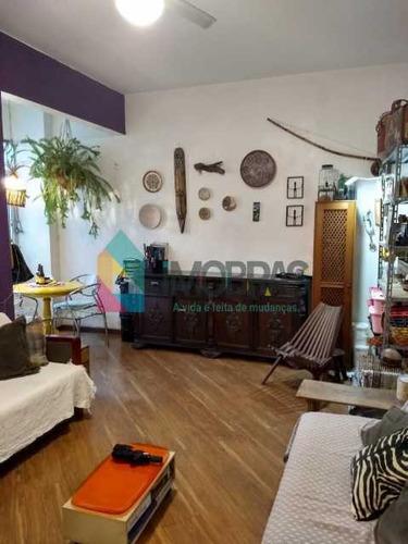 Imagem 1 de 15 de Apartamento 2 Quartos Na Praia De Botafogo, Com Vista Lateral Para O Pão De Açúcar. - Boap20850