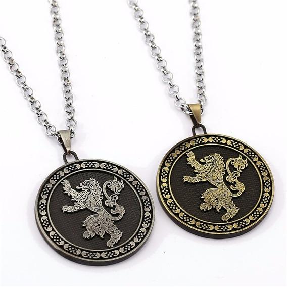 Collar Game Of Thrones Juego De Tronos Stark Valbar