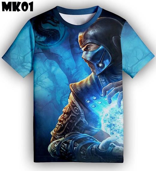 Franela Mortal Kombat