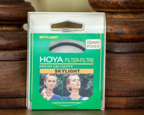 Filtro Hoya 55mm Rosca Nikon Canon Sony E Outros De Rosca