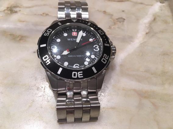 Relógio Suíço Wenger Aquagraph 1000m 7223x