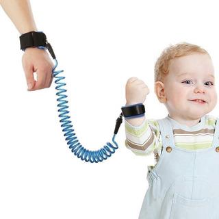 Pulsera Anti Pérdida Para Bebés Niños Arnes de Seguridad Pulso Infantil Azul