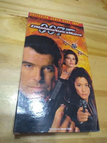 El Mañana Nunca Muere - James Bond - Brosnan - Vhs - U