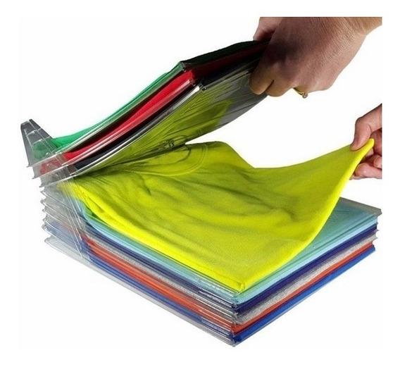 Organizador De Camisas E Camisetas Tipo Arquivo Kit C/100