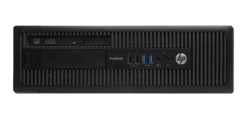Cpu Hp Elitedesk 800 Core I5  4ªg 4gb Ssd 120gb Dvd Wifi