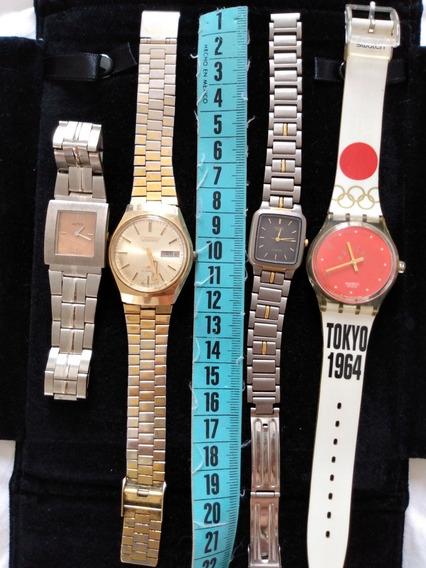 Relógios Usados Necessitam De Reparos
