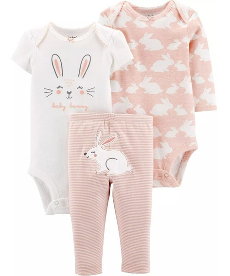Set Personaje - Conejo - Carters - Bebe - Mujer