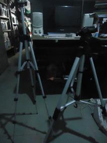 Vendo Dois Tripés Para Câmera Simples Ou Profissional