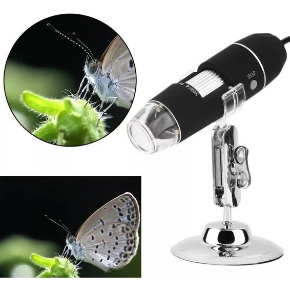 Microscópio Digital 1000x Zoom Usb Camera 2.0mp Profissional