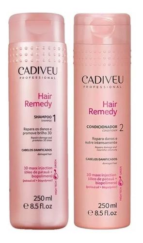 Cadiveu Hair Remedy Shampoo + Condicionador 250ml