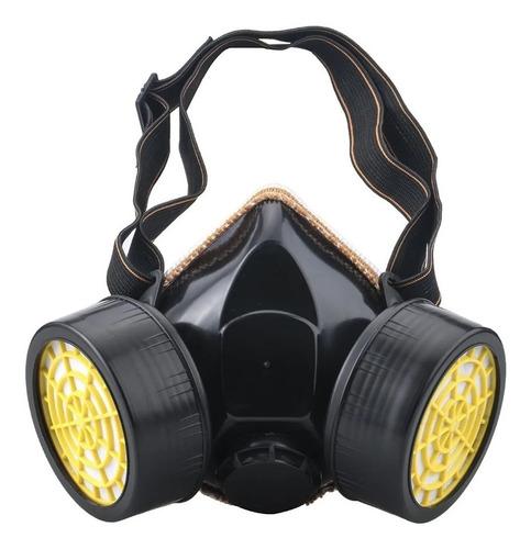 Mascara Con 2 Filtros Protector Polvo, Gases , Pintura