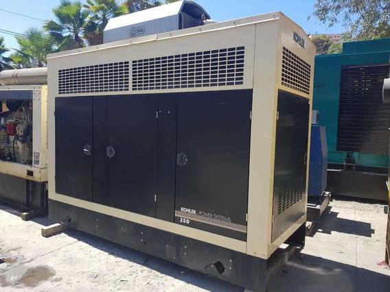 Generador De Luz Kohler 250 Kw Diesel Nacional Garantia