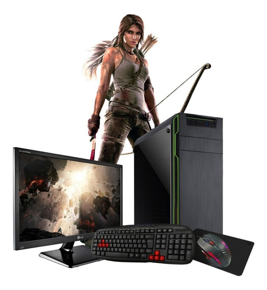 Pc Gamer Core I7 2600 16gb Ssd240gb Gt1030 Tela 21,5 Hdmi