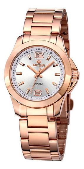 Relógio Feminino Senhora Vestido! Pulseira De Aço Inoxidável
