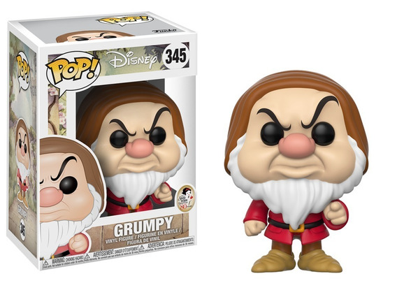 Funko Pop! Disney: Snow White - Grumpy (zangado) #345