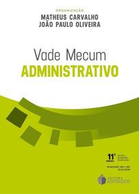 Vade Mecum Administrativo Matheus Carvalho 2018