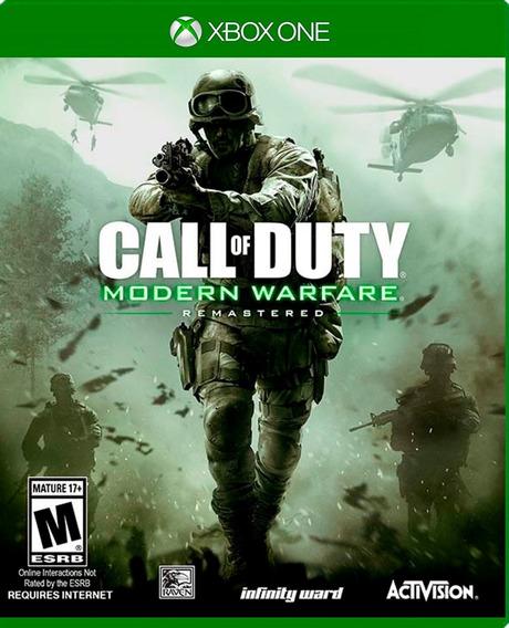 Call Of Duty Modern Warfare Xbox One Remasterizado Nuevo