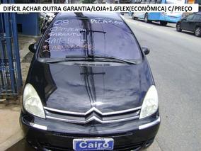 Citroën Xsara Picasso 1.6 Glx Flex 5p Completa Couro Top