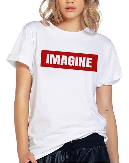 Blusa Playera Camiseta Dama Imagine Instagram Elite #507