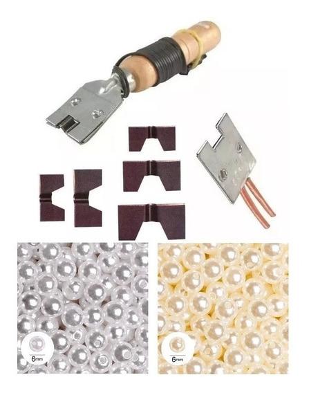 Frisador De Chinelo 2000 Perolas 6mm Itens De Reposição Kit