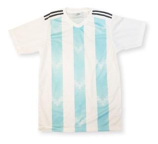 Camiseta Casaca Remera Argentina 2018 Mundial Cotillon
