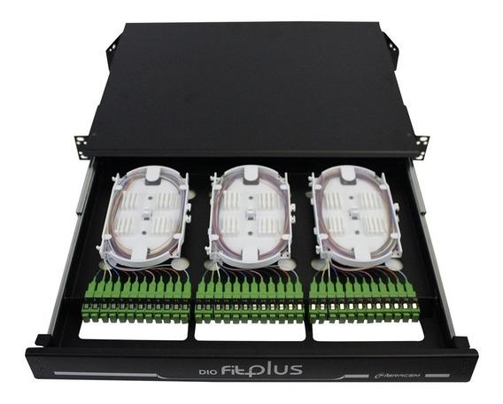 Distribuidor Intern Óptico-dio 36fo Sc-apc Completo Fibracem