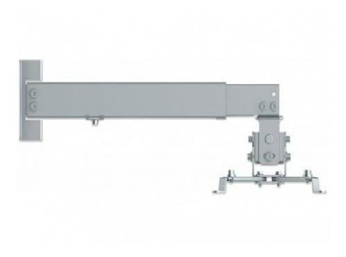 Imagen 1 de 3 de Soporte Proyector Manhattan 461191 Para Muro O Techo Plata 2