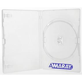 100 Box Estojo Capa Dvd Transparente Amaray Filme Sony Dadc